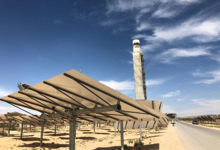Tour solaire d'Ashalim