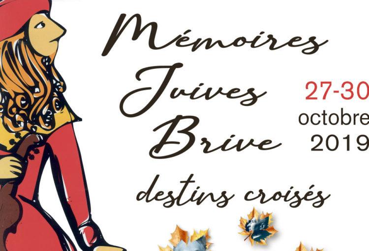 Colloque sur les mémoires juives en Corrèze, et à Brive-la-Gaillarde, du 27 au 30 octobre 2019