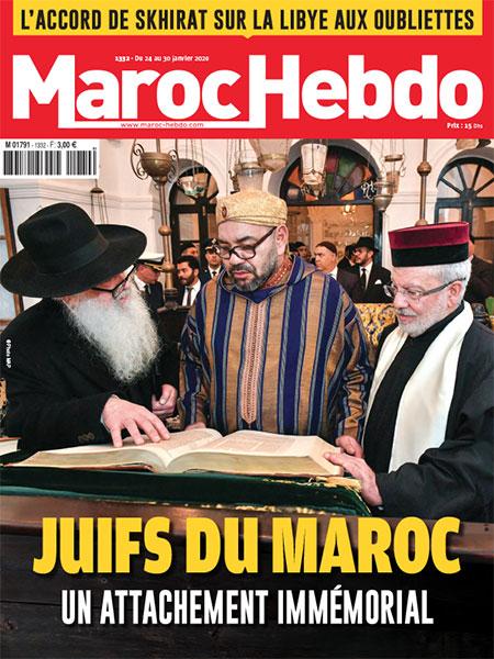 Une du magazine Maroc Hebdo de janvier 2020
