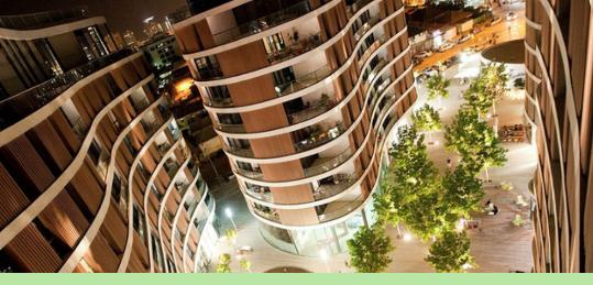 Tel Aviv's New Skyline Brings Residential Density