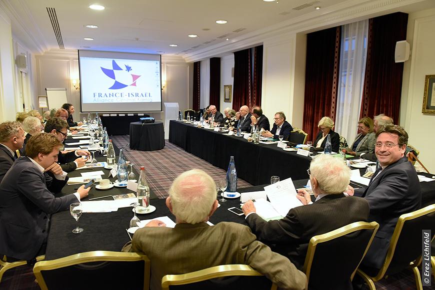 Conférence des présidents des associations régionales France-Israël, 9 décembre 2018