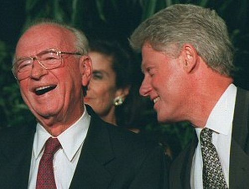 Clinton et Rabin- Photo Israel Defense Forces