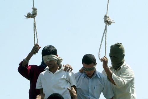 Pendaison d'homosexuel en Iran