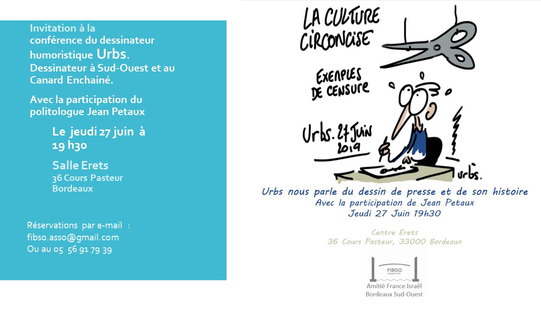 La culture circoncise – Le dessin de presse et son histoire // Bordeaux