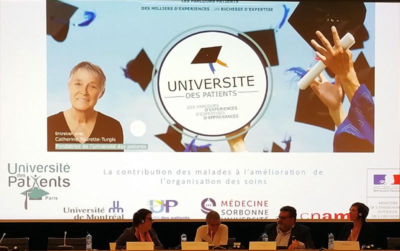 Colloque franco-israélien innovations sociales au service de la solidarité, Assemblée nationale 19 juin 2019 - Université des patients