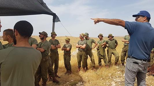 Equipe de parachutiste de Tsahal du programme de protection de la nature