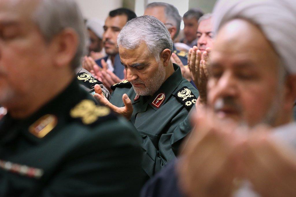 Qassem Soleimani, avril 2016, Wikicommons