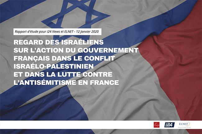 Sondage IFOP regard des Israéliens sur gouvernement français et lutte contre antisémitisme