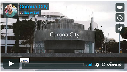 Corona city (Tel Aviv endormie)