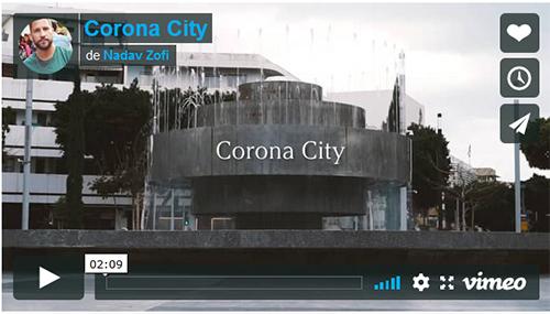 Corona city (Tel Aviv endormie)