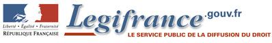 Légifrance logo