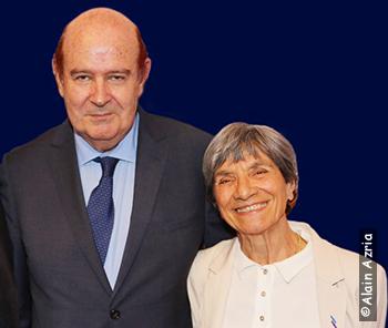 Claude Barouch et Josiane Sberro (Photo : Alain Azria)