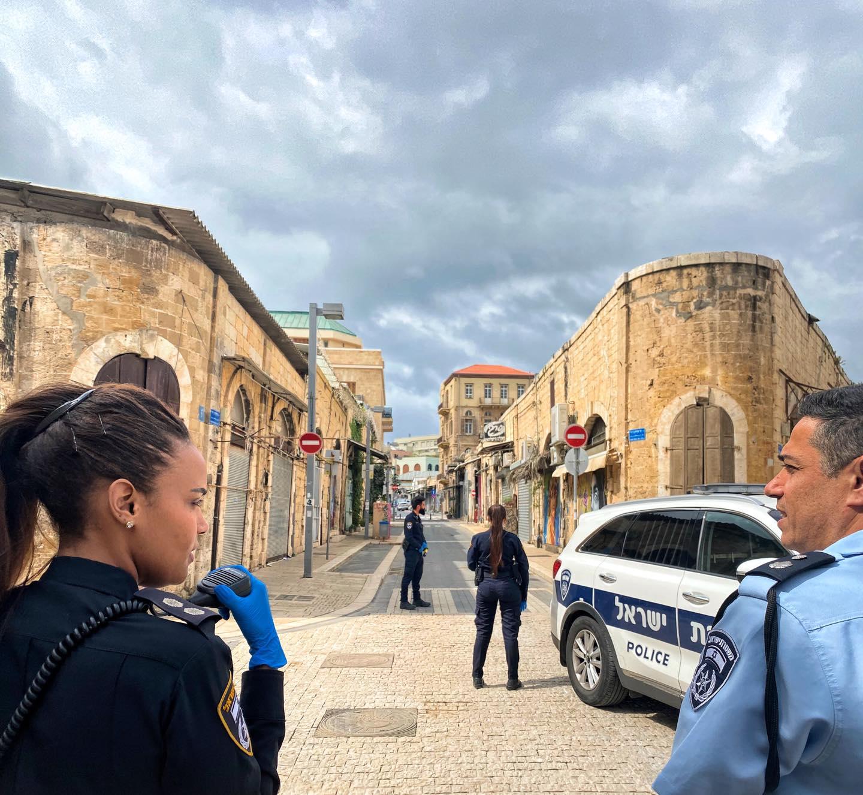 Israël, images du couvre-feu