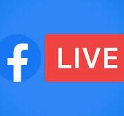 Logo de Facebook live