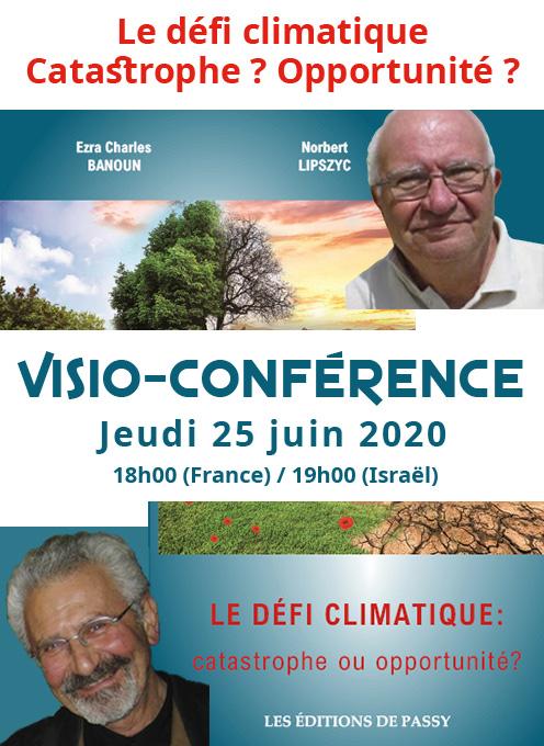 Le défi climatique : catastrophe ou opportunité ? // Visio-conférence, 25 juin