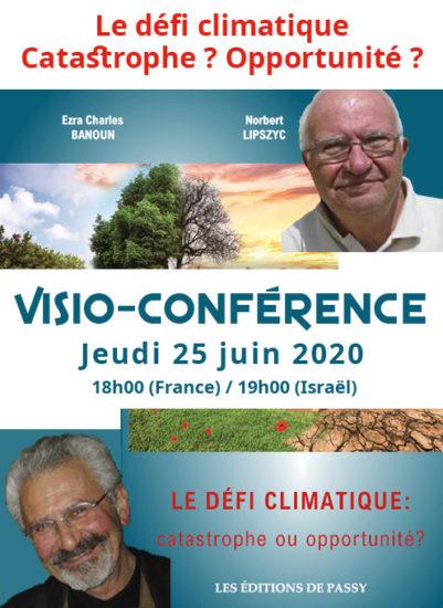 Défi climatique. Catastrophe ? Opportunité ? // Visio-conférence 25 juin