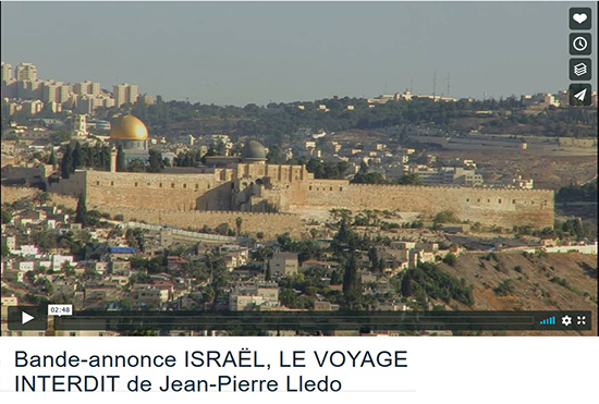 Bande-annonce Israel voyage interdit Lledo