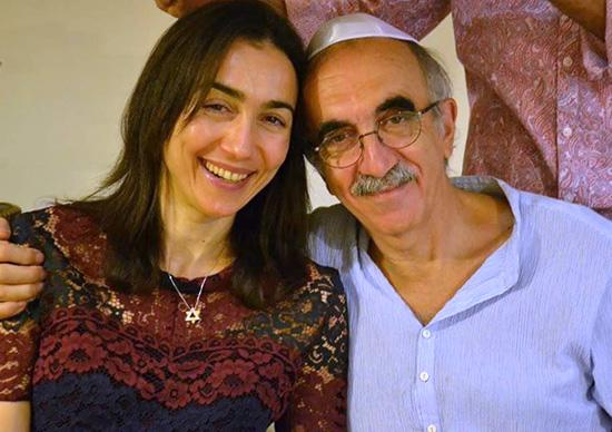Jean-Pierre Lledo et sa fille Naouel