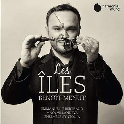 """Couvreture de l'album """"les Iles"""", du compositeur Benoît Menut, aux éditions Harmonia Mundi"""