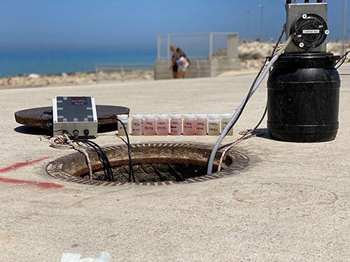 Mesure du taux de contamination des eaux usées par le covd-19 en Israël