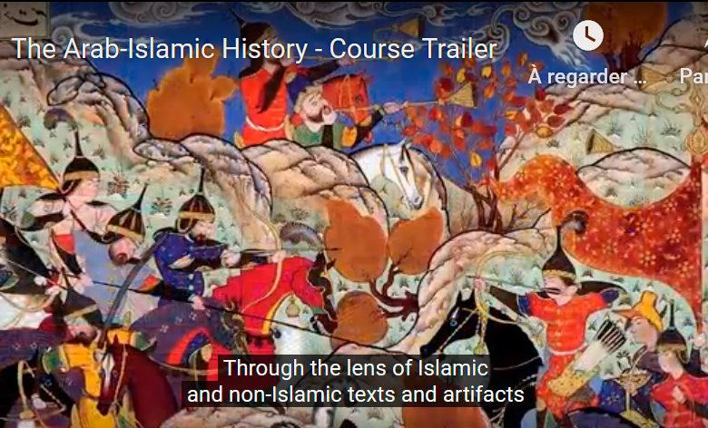 Illustration du cours de l'histoire arabe et islamique dispensée par le professeur Miri Shefer-Mossensohn à l'Université de Tel-Aviv