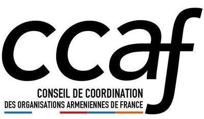 Logo du CCAF (Conseil de coordination des organisations arméniennes de France)