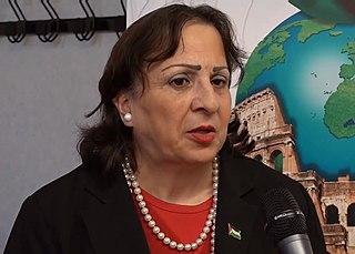 Mai al-Kaila ministre palestinienne de la Santé