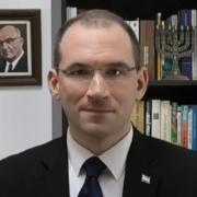 Portrait du géopolitologue israelien Meir Masri