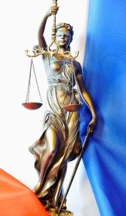 La déesse Thémis, symbole de la justice