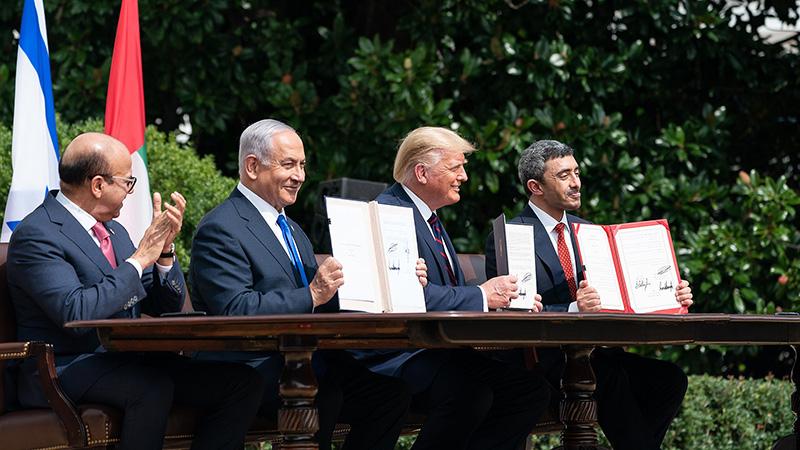 Les accords d'Abraham, signés entre Israël et plusieurs États arabes, doivent être préservés