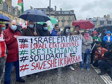 Manifestation pro palestinienne et anti israélienne, Bordeaux, 15 mai 2021