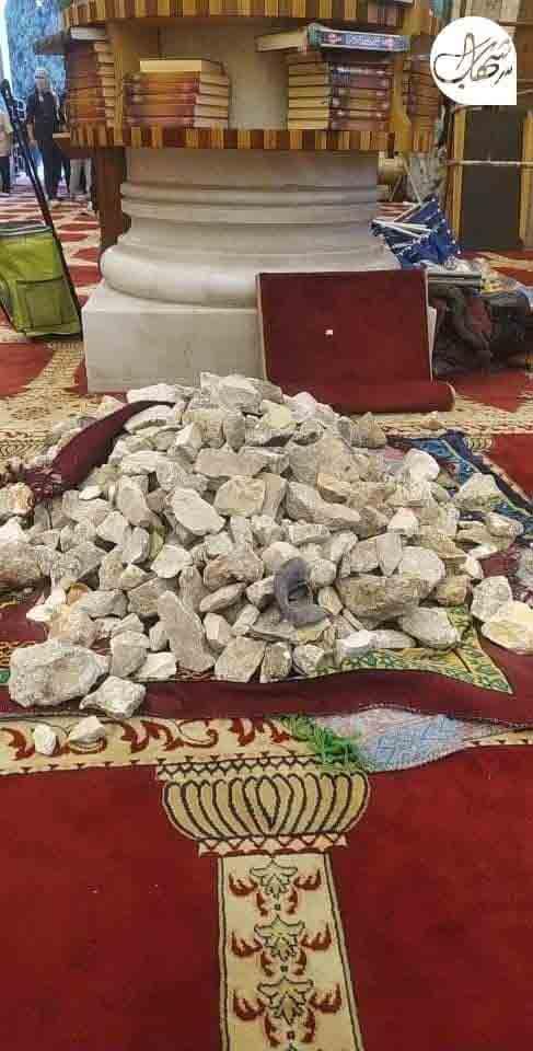 La mosquée Al-Aqsa sert de provision de pierres pour les émeutiers - Mai 2021