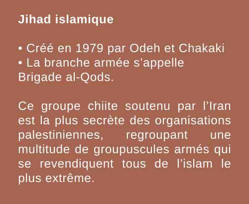 Jihad islamique encart