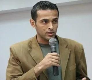 Rami Aman, Palestinien membre du Gaza Youth Committee (activistes pour la paix), emprisonné et torturé par le Hamas pour avoir participé à une visio-conférence en avril 2021 avec des Israéliens, pour parler de coexistence.