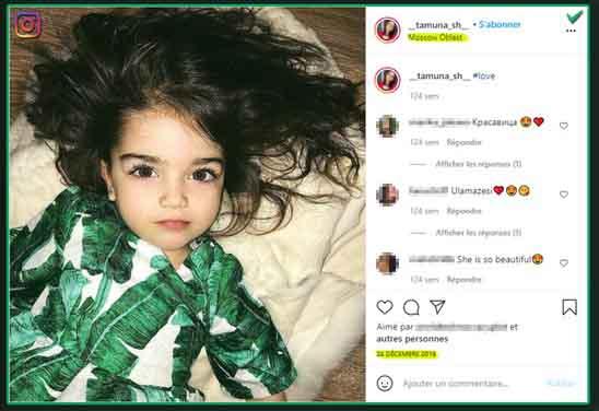 La petite fille russe dont l'image a été détournée
