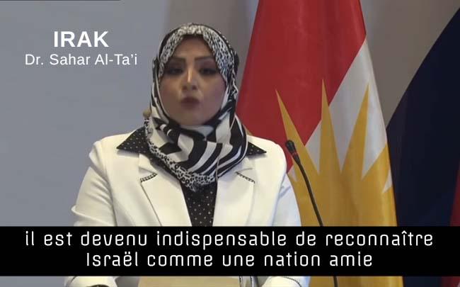 Irak: appel à la paix avec Israël (suivi de menaces)